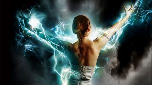 Energy woman